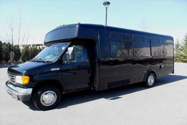 18 passenger party bus Mansfield