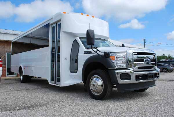 22 Passenger party bus rental Mansfield