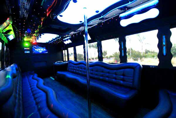 40 people party bus Newark