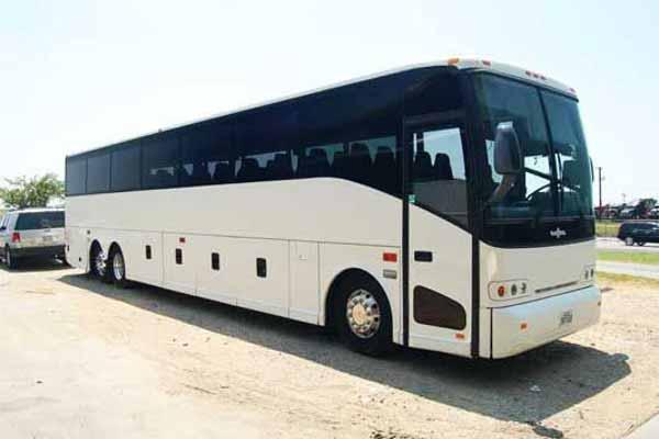 50 passenger charter bus Mansfield