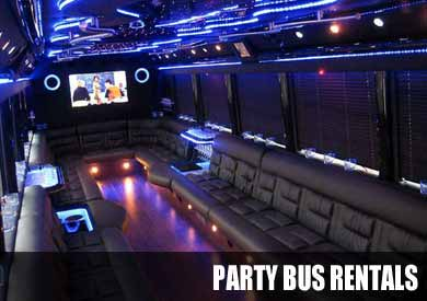 Airport Transportation Party Bus in Columbus