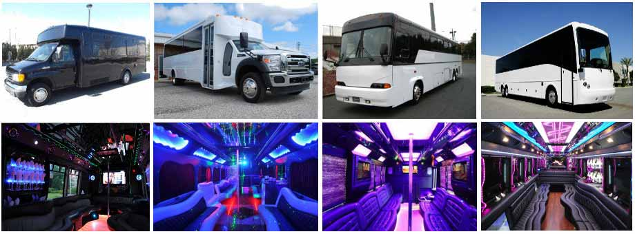 Prom & Homecoming Party buses Columbus