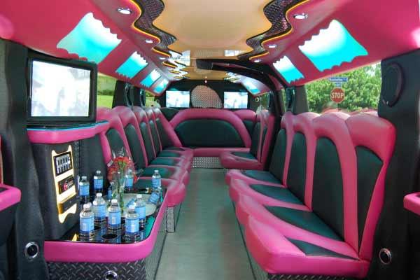 pink hummer limousine Dublin