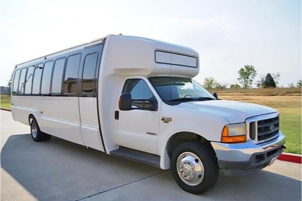 20 passenger shuttle bus rental Commercial Point