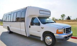 20 passenger shuttle bus rental Granville