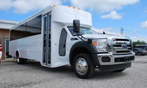 30 passenger bus rental Commercial Point