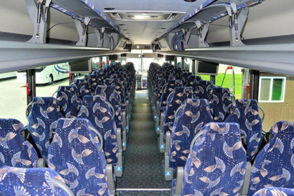 40 person charter bus Africa