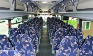 40 person charter bus Granville