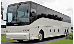 50 passenger charter bus Commercial Point