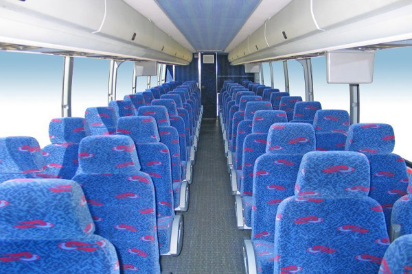 50 person charter bus rental Gahanna